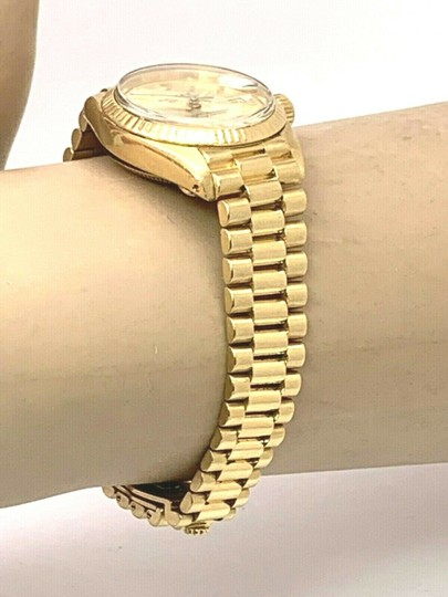 Rolex 1979 Rolex 6917 Ladies 18k Yellow Gold President Watch Oyster Datejust Image 7