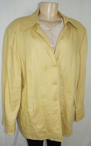 Ellen Tracy Yellow Blazer