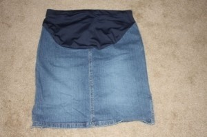 Old Navy Old Navy Maternity Jean Skirt
