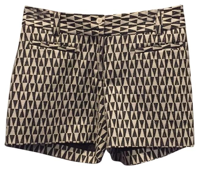 Item - Black and White Shorts Size 4 (S, 27)