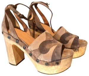 Sigerson Morrison Taupe Mules