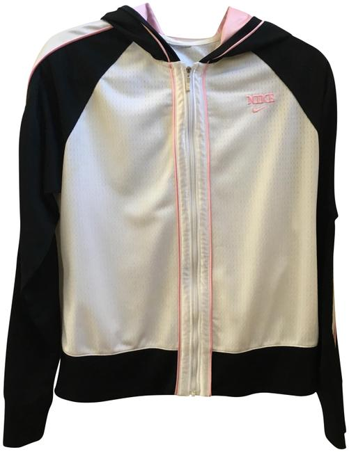 Item - White Black Pink Activewear Outerwear Size 8 (M)