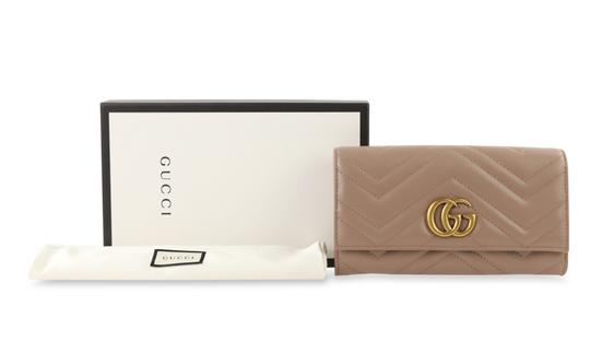 Gucci Marmont 2.0 Leather Continental Wallet Image 11