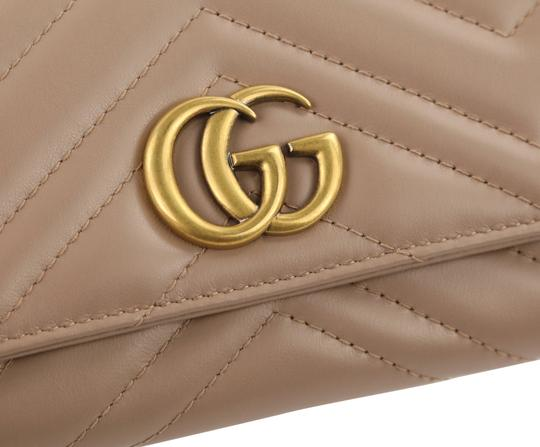 Gucci Marmont 2.0 Leather Continental Wallet Image 5