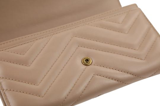 Gucci Marmont 2.0 Leather Continental Wallet Image 6