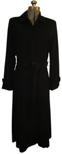 Fleet Street Knit Belted Fitted 003onm Trench Coat