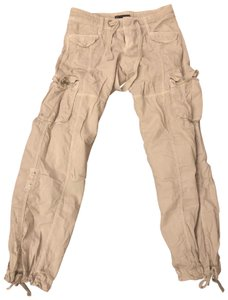 A|X Armani Exchange Cargo Pants off white