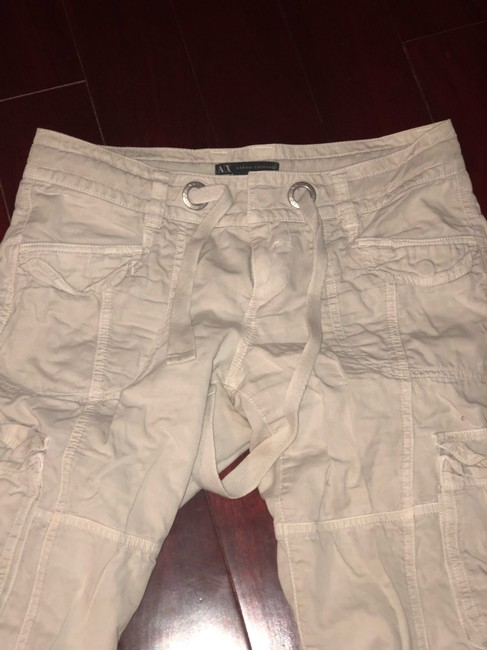 A|X Armani Exchange Cargo Pants off white Image 2