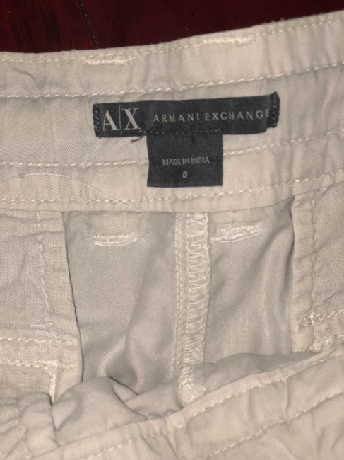 A|X Armani Exchange Cargo Pants off white Image 3