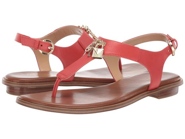 Item - Orange Suki T-strap Charm Terracotta Sandals Size US 9.5 Regular (M, B)