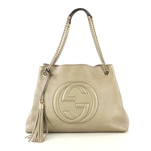 7ff993771 Gold Leather Gucci Bags - 70% - 90% off at Tradesy (Page 2)