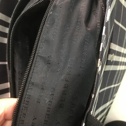 Burberry Tote in Black and White Image 6
