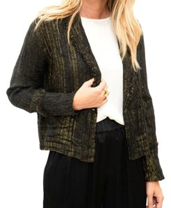 Raquel Allegra Black / Gold Blazer