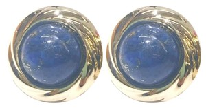 Other GORGEOUS!! VINTAGE!! 14 Karat Yellow Gold and Lapis Earrings