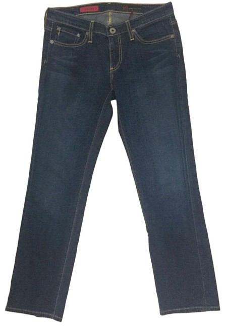 Item - Blue The Sweetie Cropped Straight Leg Jeans Size 4 (S, 27)