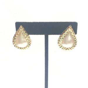 Other BEAUTIFUL VINTAGE!! 14 Karat Yellow Gold and Mabe Pear Shaped Pearl Earrings