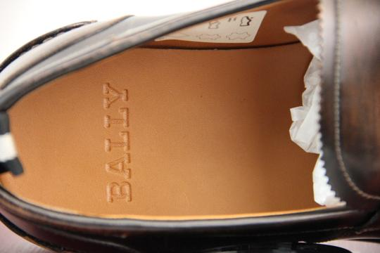 Bally Brown Mody Honey Brushed Leather Penny Loafers 11.5 Us 44.5 Swiss Shoes Image 9