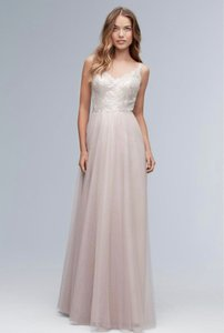 Wtoo Honey Love (Champagne and Blush) 154i Traditional Bridesmaid/Mob Dress Size 12 (L)