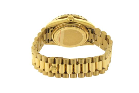 Rolex 3ct 36mm Datejust 18k Gold Presidential with & Appraisal Image 4