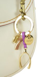 Coach Wishbone Lucky 7 Mix Key Fob Key Chain Bag Charm