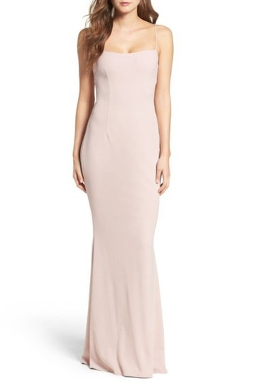 Preload https://img-static.tradesy.com/item/25562185/katie-may-dusty-rose-textured-crepe-jean-lace-up-katim30031-sexy-bridesmaidmob-dress-size-14-l-0-0-540-540.jpg