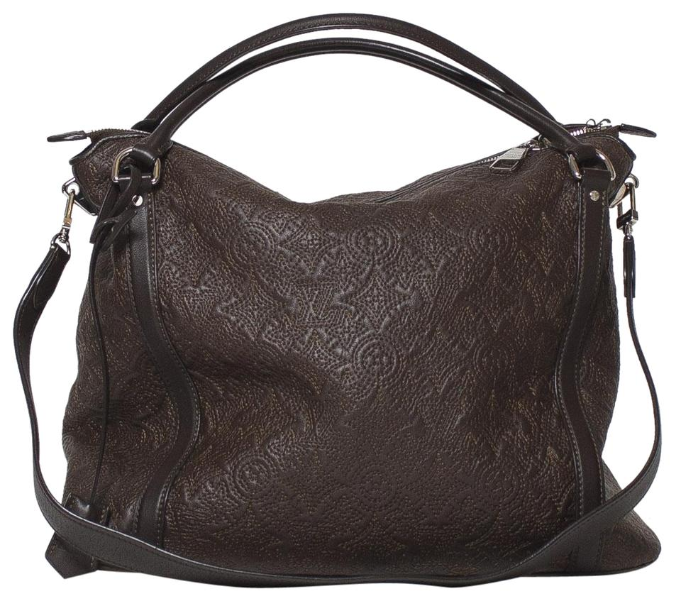 Louis Vuitton Antheia Ixia Mm Chocolate Brown Leather Shoulder Bag 18% off  retail