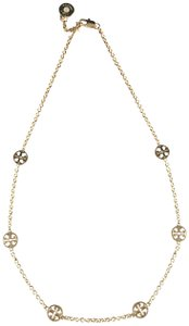 Tory Burch Brand New Tory Burch GOLD Delicate Logo Double T Charms Necklace