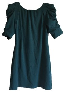 Jessica Simpson short dress Teal on Tradesy