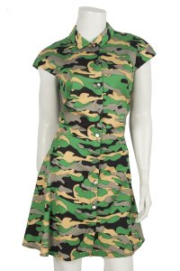 Carven short dress green on Tradesy