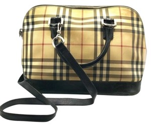 Burberry London Dome Satchel in Multicolor