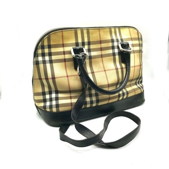 Burberry London Dome Satchel in Multicolor Image 1
