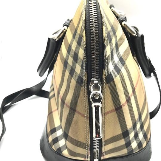 Burberry London Dome Satchel in Multicolor Image 3