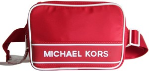 Michael Kors Michael Kors Boxy Nylon Sport Belt Bag Fanny Pack Red