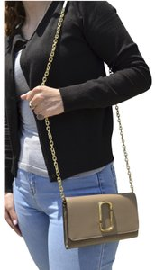 Marc Jacobs Snapshot Chain Clutch Chain Wallet Cross Body Bag