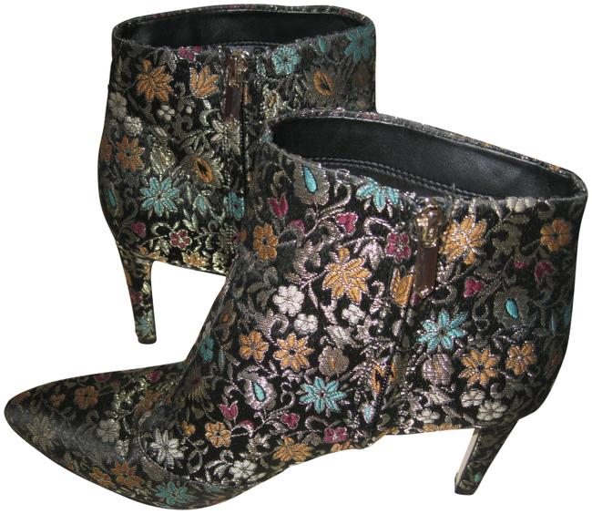 Item - Muilti Color Olette2high Pointed Toe High Ankle Boots/Booties Size US 9.5 Regular (M, B)