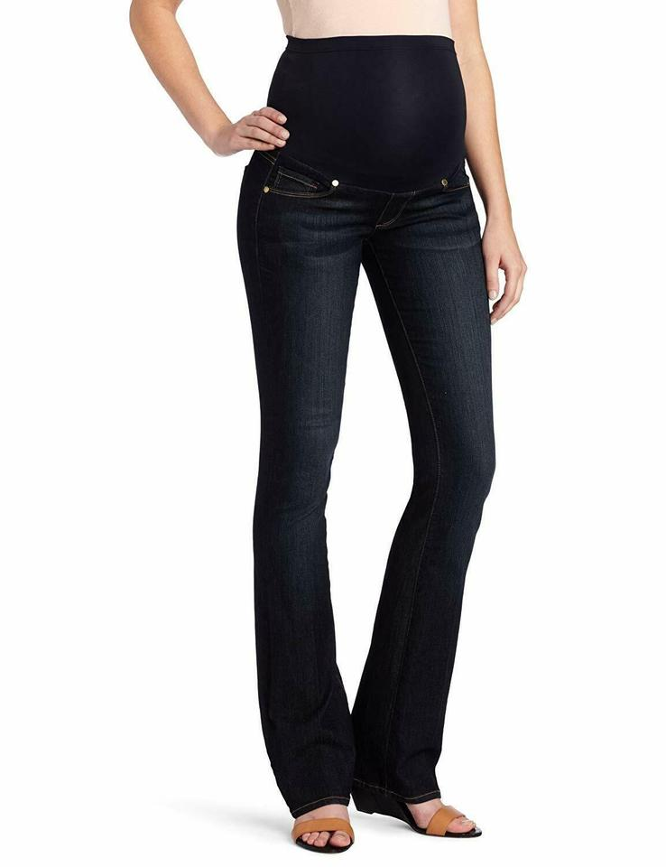 Paige Carson Skyline Full Panel Maternity Denim Size 33 10 M 75 Off Retail