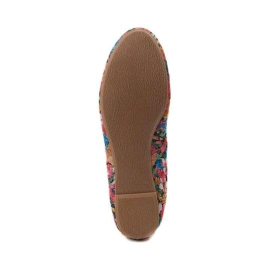 Not Rated Floral Flats