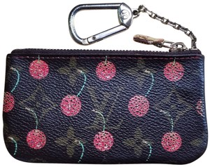 Louis Vuitton Limited Edition Cherry Monogram Cerises Key Pouch