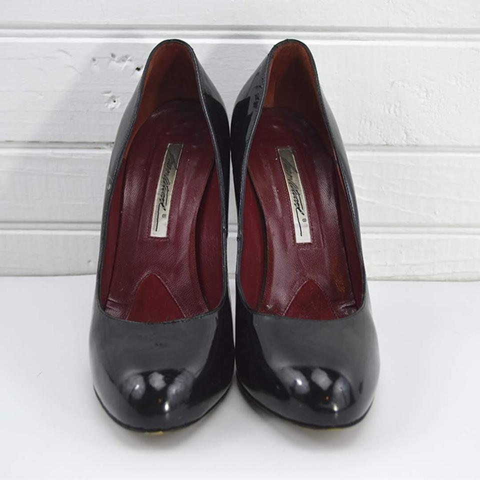 a61df7647a3 Brian Atwood Black Patent Leather #131-183 Pumps Size EU 38 (Approx. US 8)  Regular (M, B)