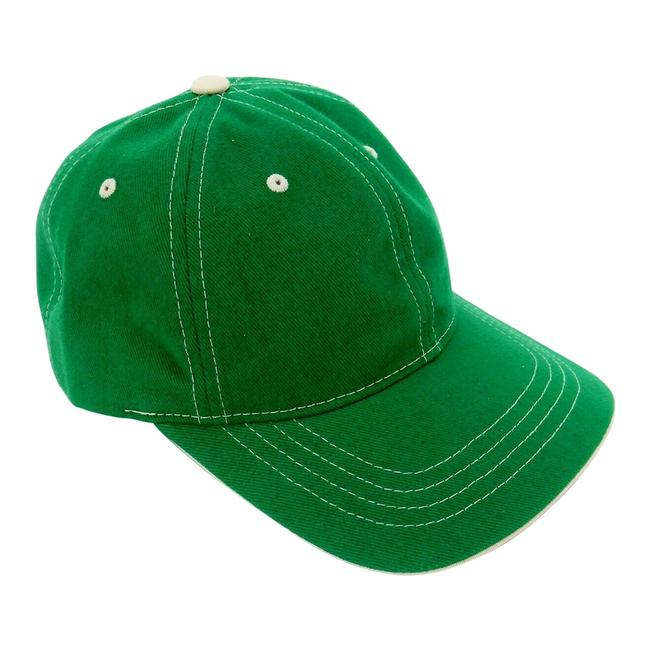 Item - Kelly Green Baseball Cap 6-panel with Adjustable Headband Lot Of 2. Hat