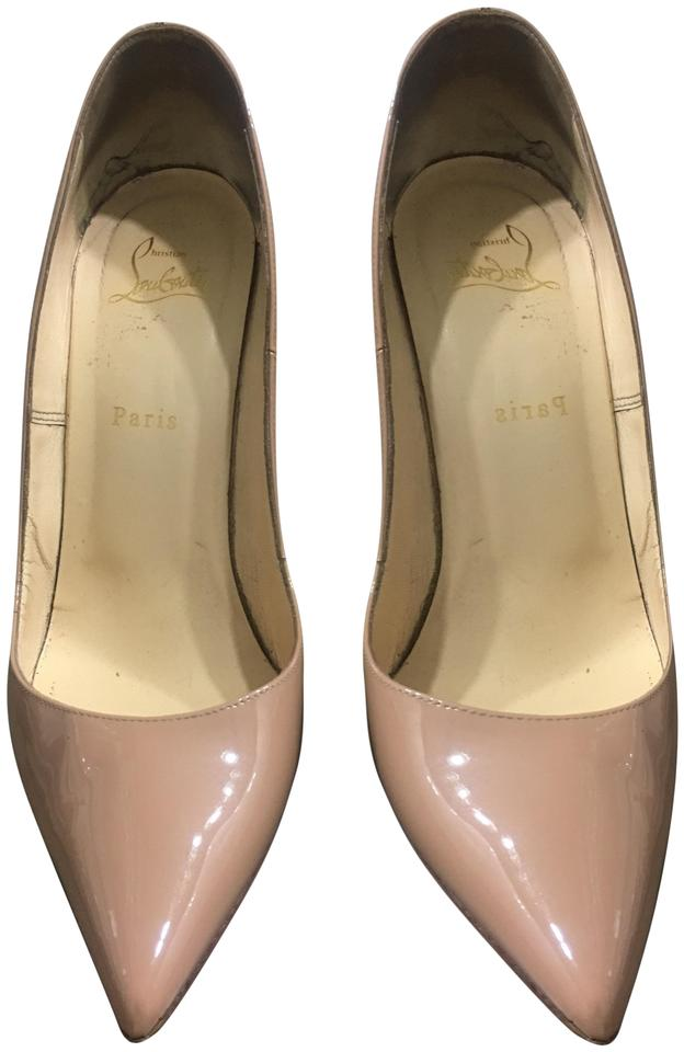 Christian Louboutin Beige Nude So Kate Pointed-toe Pumps