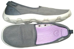 Crocs Loafer Canvas Slip-on Gray Athletic