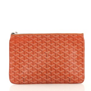 Goyard Senat Pouch orange Clutch
