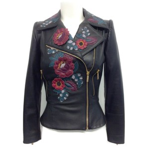 Zuhair Murad Leather Jacket