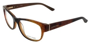 Guess By Marciano GM0261-050-53 Square Women's Brown Frame Clear Lens Eyeglasses