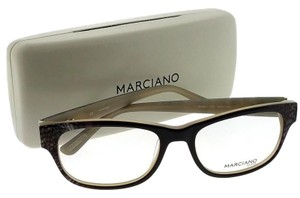 Guess By Marciano GM0261-005-53 Rectangle Women's Black Frame Clear Lens Eyeglasses
