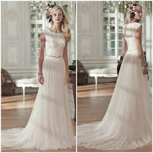 Preload https://img-static.tradesy.com/item/25566901/maggie-sottero-ivory-tulle-and-lace-patience-lynette-feminine-wedding-dress-size-14-l-0-0-540-540.jpg