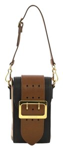 Burberry Leather Belt brown Clutch
