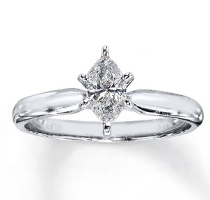 5ea620d545dd2f Kay Jewelers 1/2 Carat Diamond Marquise Solitaire Engagement Ring