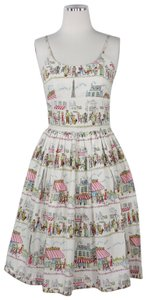 Bernie Dexter short dress Multi Pleated Pockets Limited Edition Modcloth Paris on Tradesy